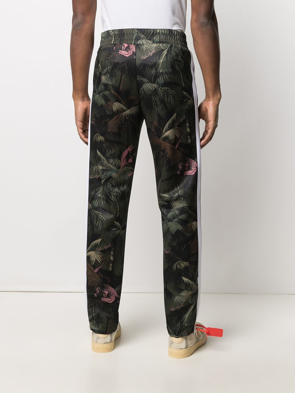 PALM ANGELS MEN JUNGLE CLASSIC TRACK PANTS