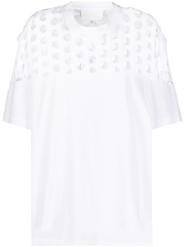 MAISON MARGIELA WOMEN HOLE T-SHIRT