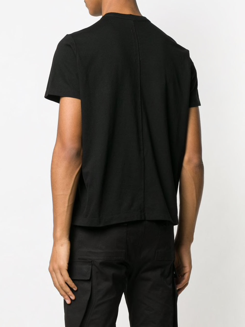 RICK OWENS MEN SHORT LEVEL TEE
