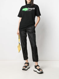 PALM ANGELS WOMEN VENICE BEACH SPRAYED TEE