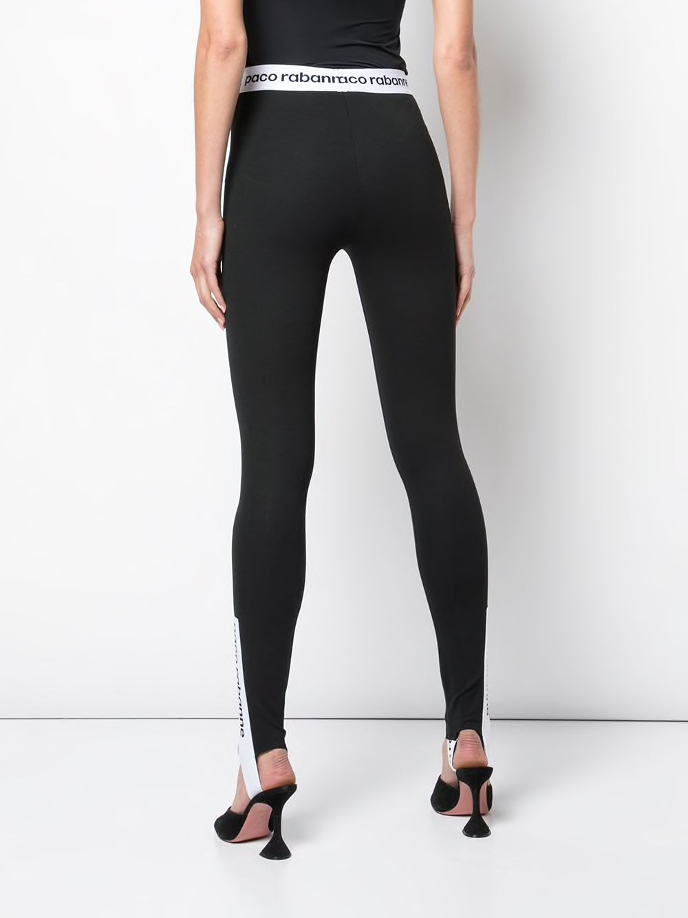 PACO RABANNE WOMEN PANTALON STIRRUP LEGGINGS
