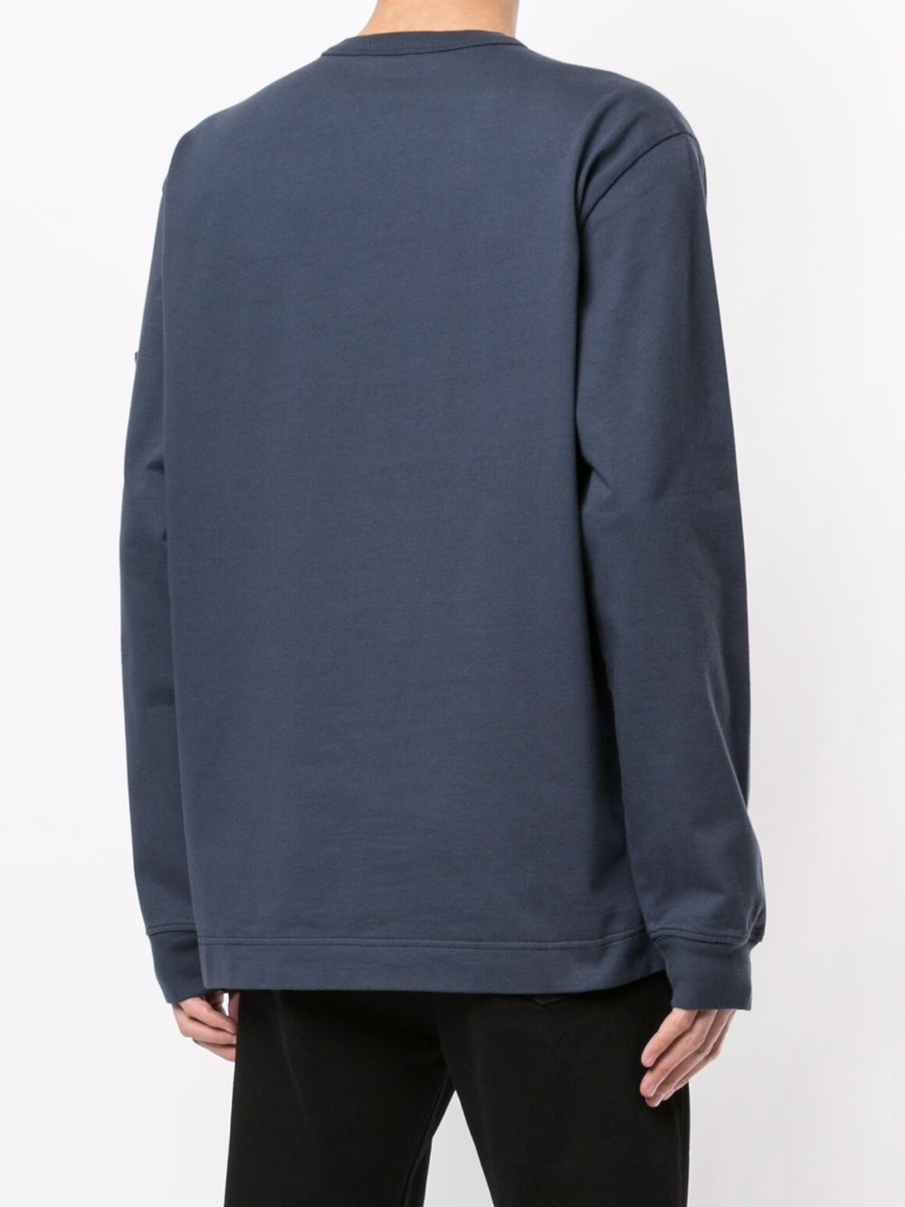 STONE ISLAND MEN LOGO PATCH COTTON SWEATSHIRT