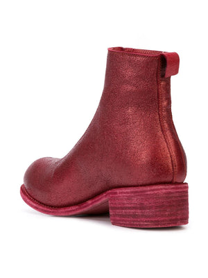 GUIDI WOMEN LIMITED EDITION COATED CHERRY PL1 BOOT