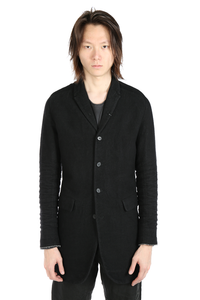 LAYER-0 MEN WOOL CLASSIC LONG JACKET