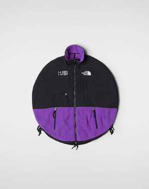 MM6 X THE NORTH FACE CIRCULAR FLEECE JACKET