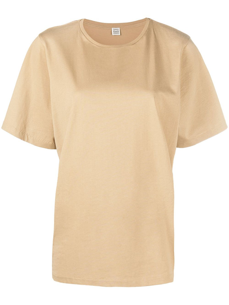 TOTEME WOMEN OVERSIZED COTTON TEE