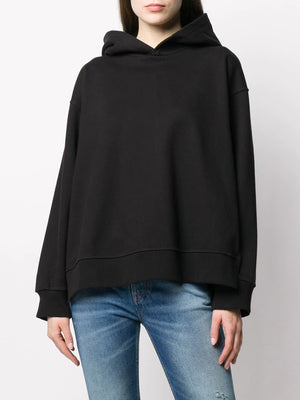 MM6 WOMEN WIDE SLIT HOODIE