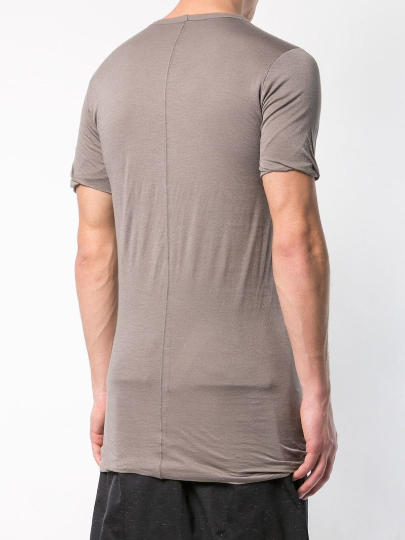 RICK OWENS MEN DOUBLE SHORT SLEEVES T-SHIRT