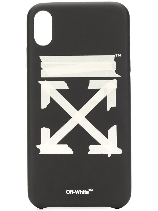 OFF-WHITE TAPE ARROWS IPHONE XS MAX COVER