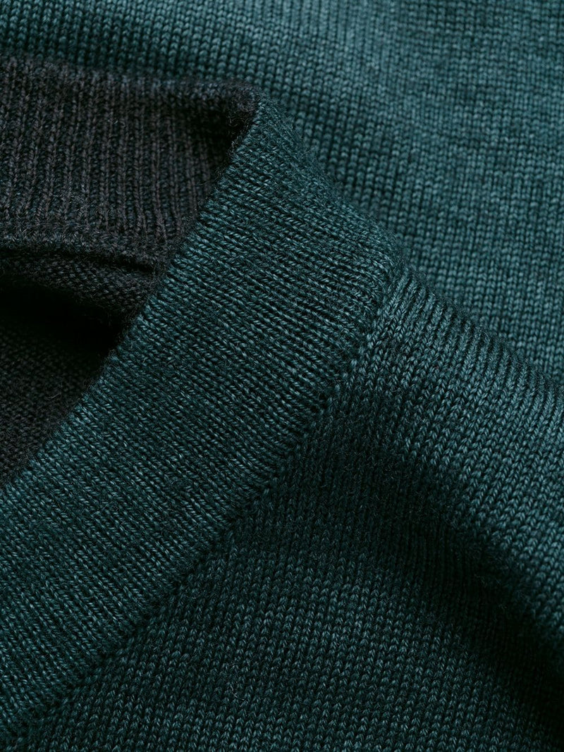 STONE ISLAND MEN KNITTED WOOL SWEATER