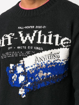 OFF-WHITE MEN PASCAL MEDICINE CREWNECK