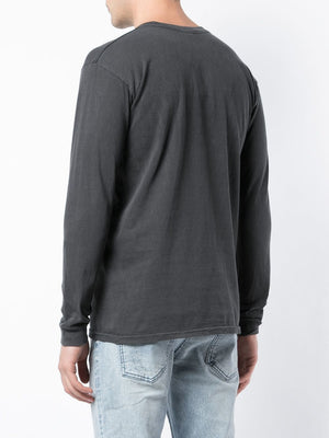 STUSSY MEN STOCK PIG. DYED LS TEE