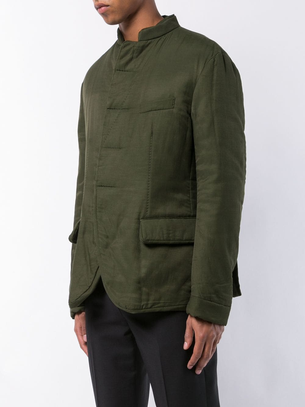 HAIDER ACKERMANN MEN MAO COLLAR JACKET 184-3006-150-035