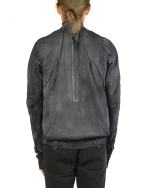 LAYER-0 MEN CALF LEATHER E JACKET