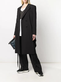 MM6 WOMEN TWISTED TAILOR COAT