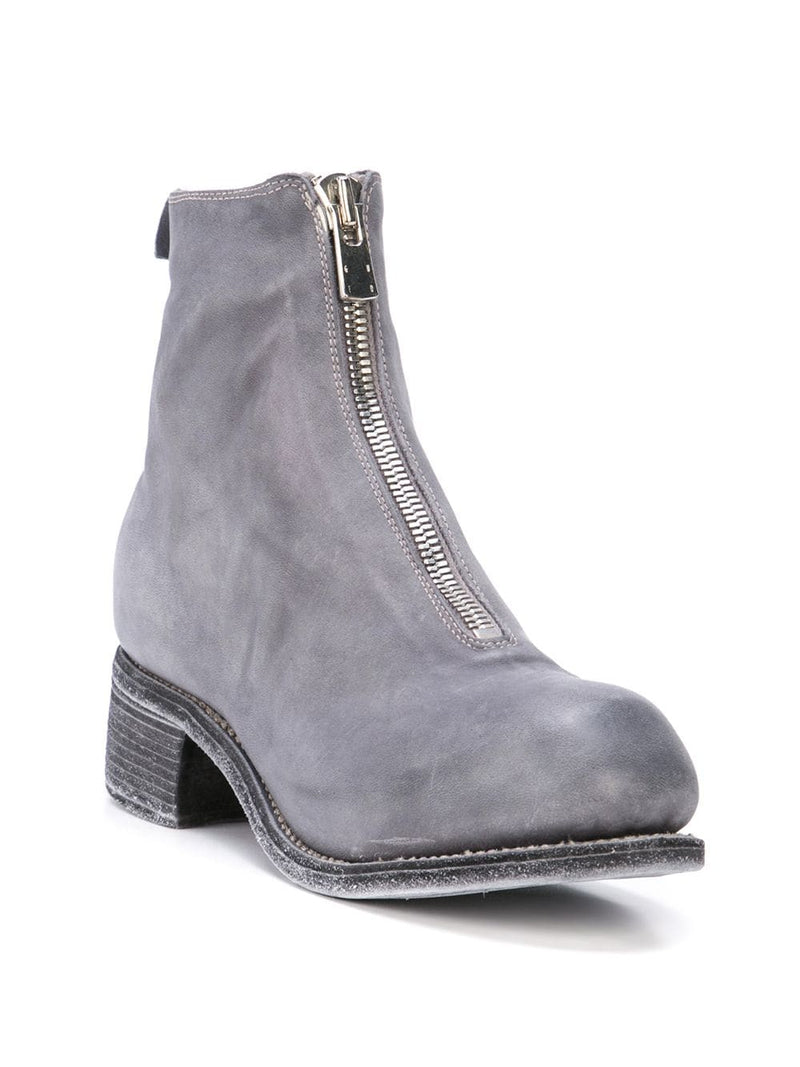 GUIDI WOMEN PL1 SOFT HORSE LEATHER FRONT ZIP BOOT
