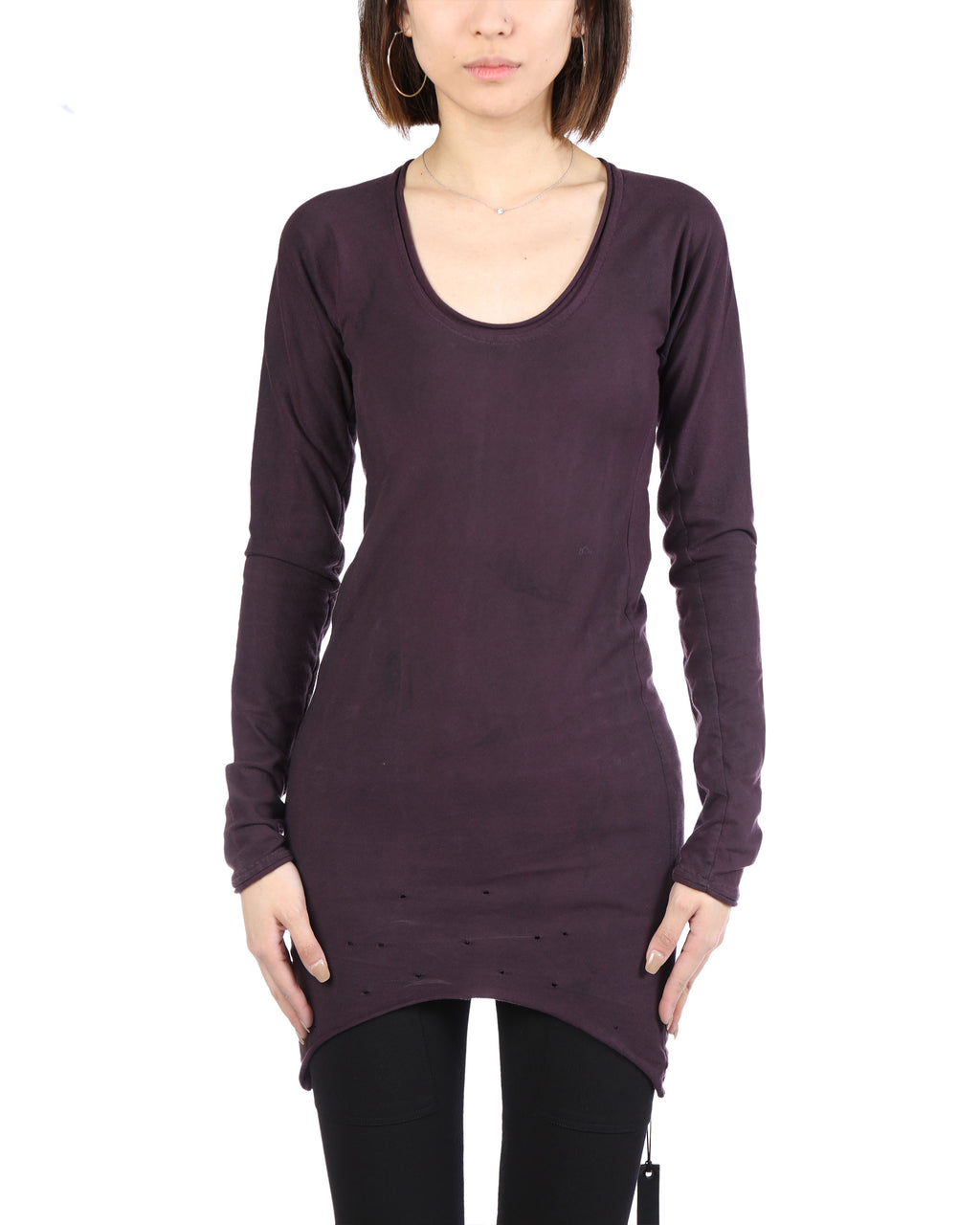 LAYER-0 WOMEN LONG T-SHIRT