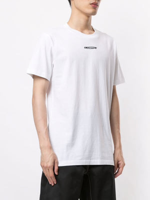 OFF-WHITE MEN BARREL WORKER S/S SLIM TEE