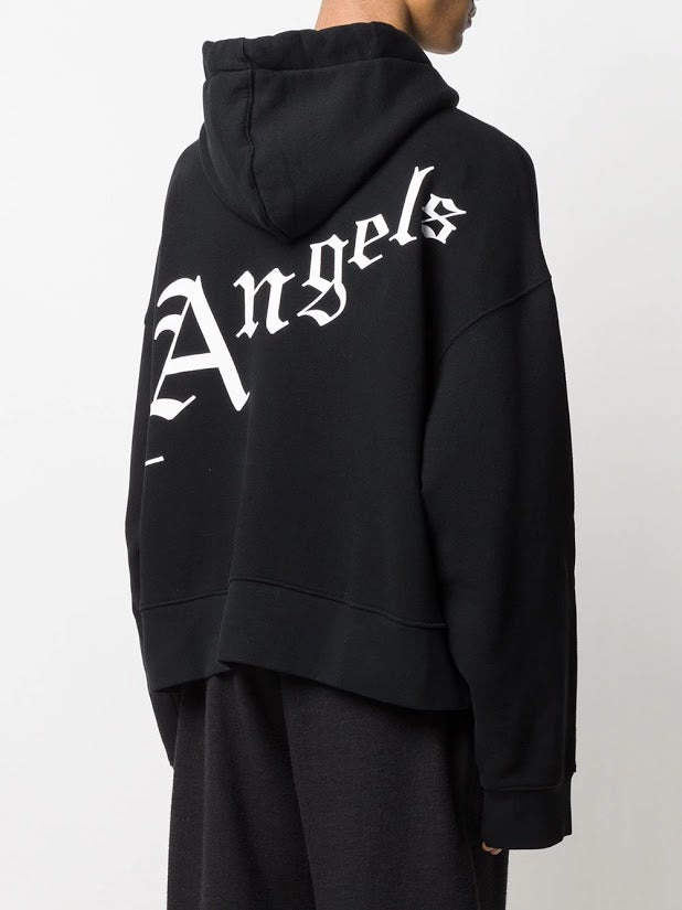 PALM ANGELS MEN NEW GOTHIC HOODIE