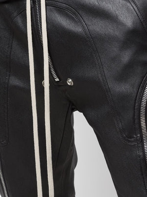 RICK OWENS MEN BAUHAUS LEATHER PANTS