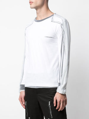 Y/PROJECT UNISEX COVERED LONG SLEEVE T-SHIRT