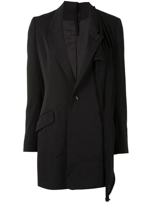 Y'S WOMEN DOUBLE TAILORED JACKET