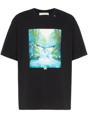 OFF-WHITE MEN WATERFALL S/S OVER TEE