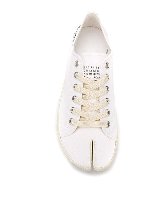 MAISON MARGIELA MEN CANVAS TABI SNEAKERS