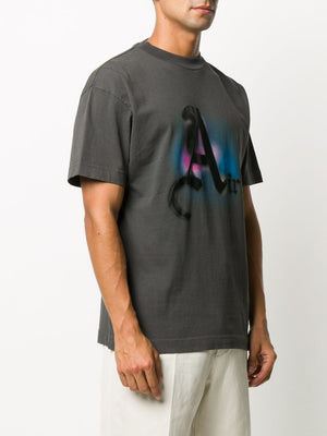 PALM ANGELS MEN AIR TEE GARMENT DYE