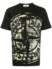 STONE ISLAND MEN DIGITAL PRINT T-SHIRT