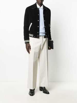 SAINT LAURENT MEN CORDUROY TEDDY JACKET