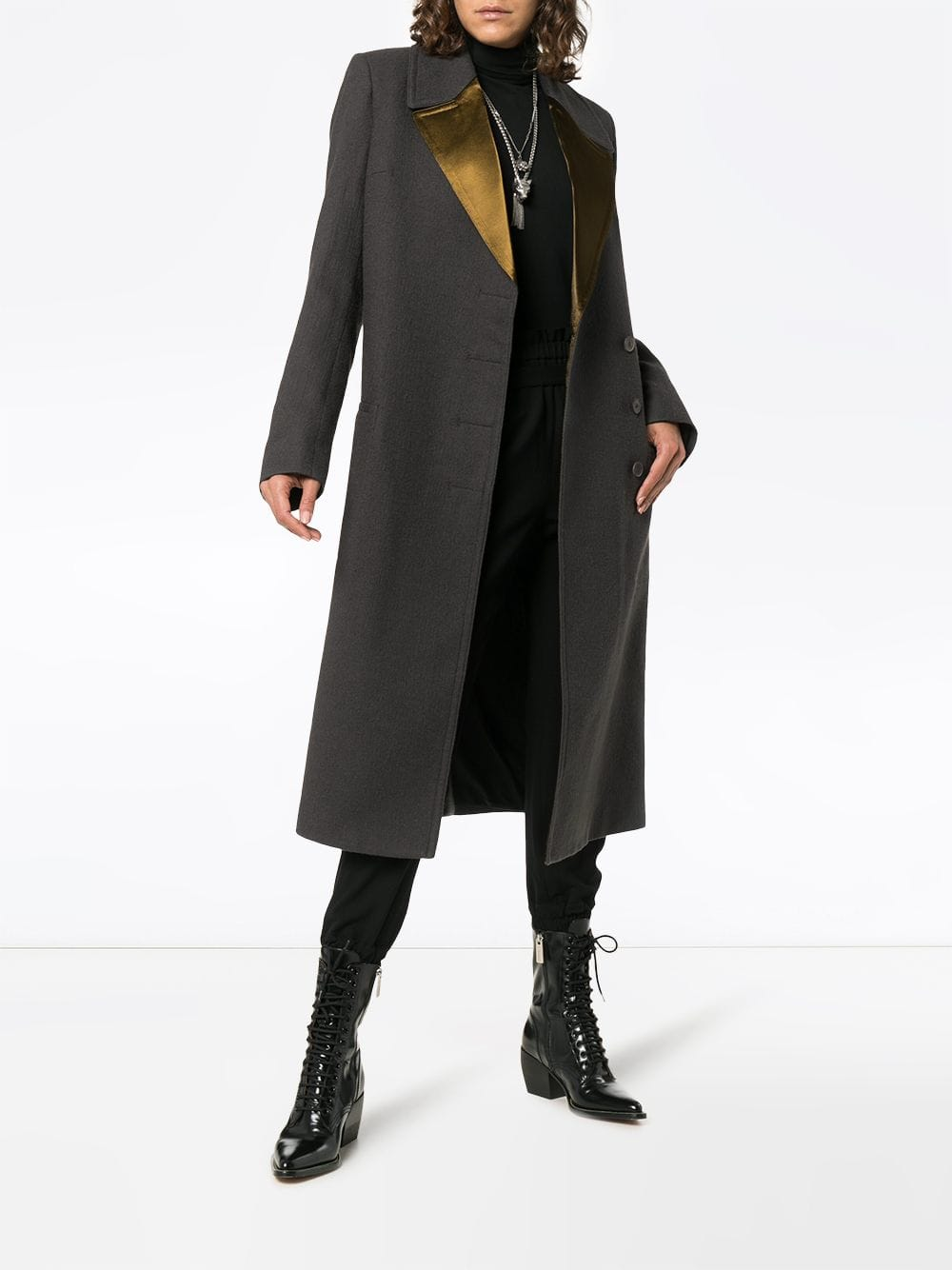 HAIDER ACKERMANN WOMEN LONG COAT