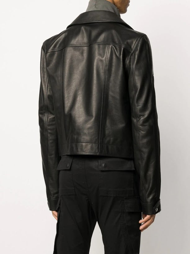 RICK OWENS MEN DRACUBIKER JACKET