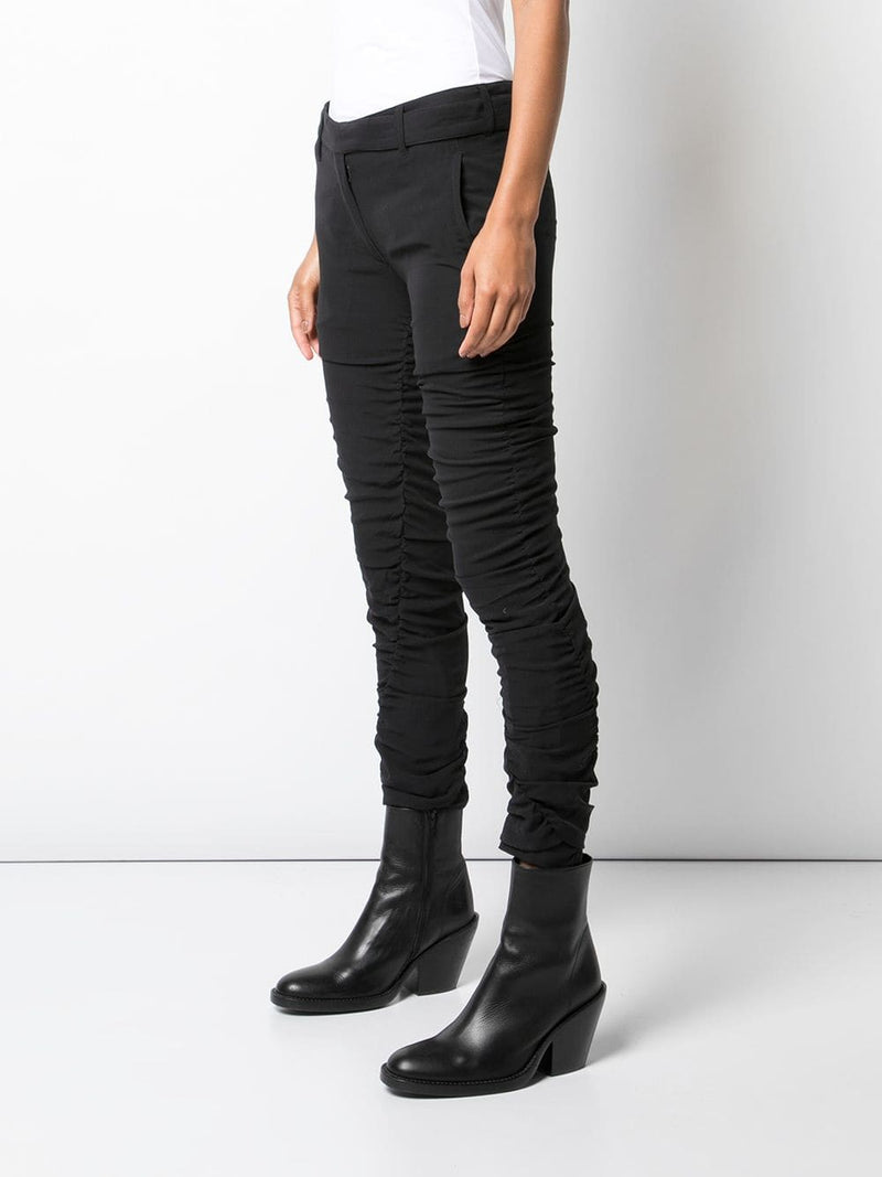 ANN DEMEULEMEESTER WOMEN GEORGIA BLACK + SUBTLE TROUSER