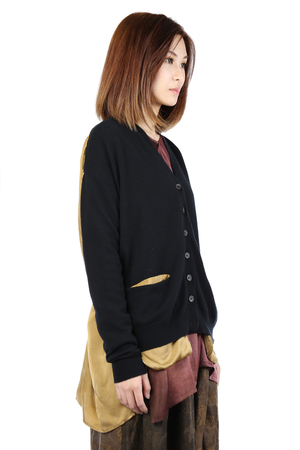 UMA WANG WOMEN CARDIGAN KNIT TOP
