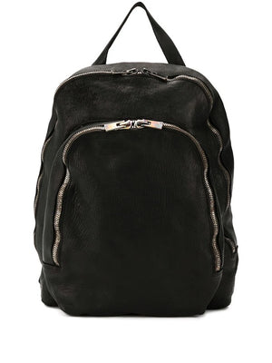 GUIDI SOFT HORSE LEAHTER SMALL 2 ZIP BACKPACK