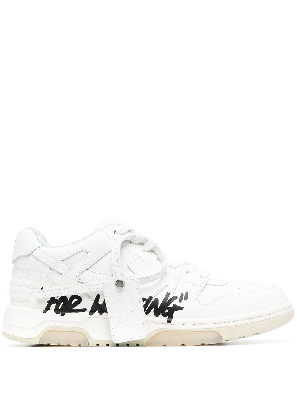 OFF-WHITE MEN OUT OF OFFICE WALK CALF SPEC SNEAKER
