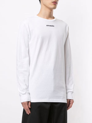 OFF-WHITE MEN MARKER L/S TEE