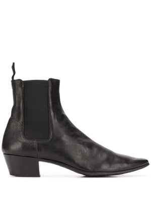 SAINT LAURENT MEN DYLAN 40 ELAST BOOTS NERO