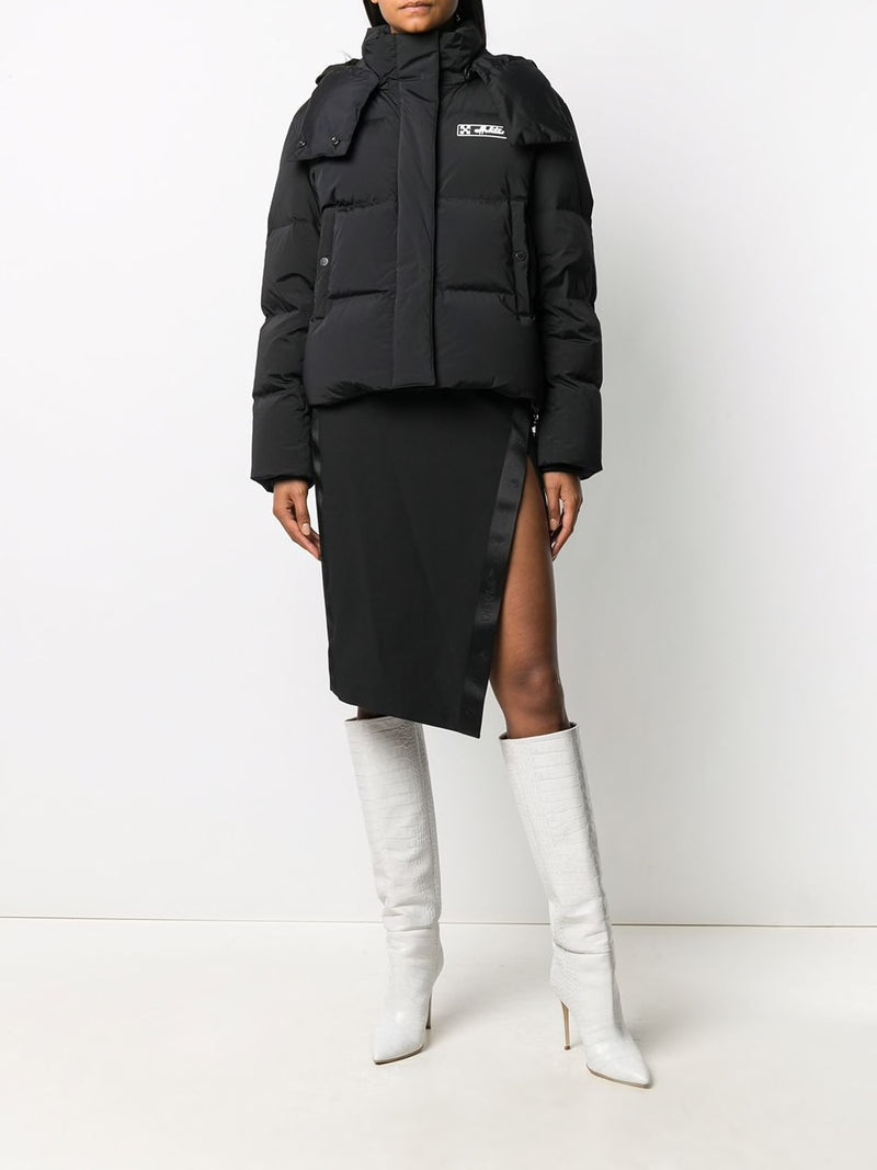 OFF-WHITE WOMEN REGULAR PUFFER JACKET
