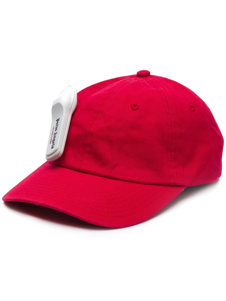 PALM ANGELS MEN ANTI-THEFT CAP