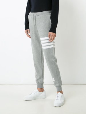 THOM BROWNE WOMENS CLASSIC SWEATPANTS IN CLASSIC LOOP WITH ENGINEERED 4 BAR