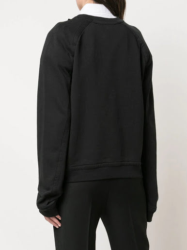 HAIDER ACKERMANN WOMEN EMBROIDERED SWEATSHIRT