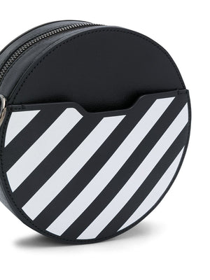 OFF-WHITE WOMEN DIAG ROUND BAG