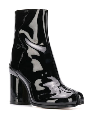 MAISON MAARGIELA WOMEN PATENT LEATHER TABI HEEL