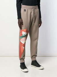 UNDERCOVER X VALENTINO MEN PRINTED SWEATPANTS