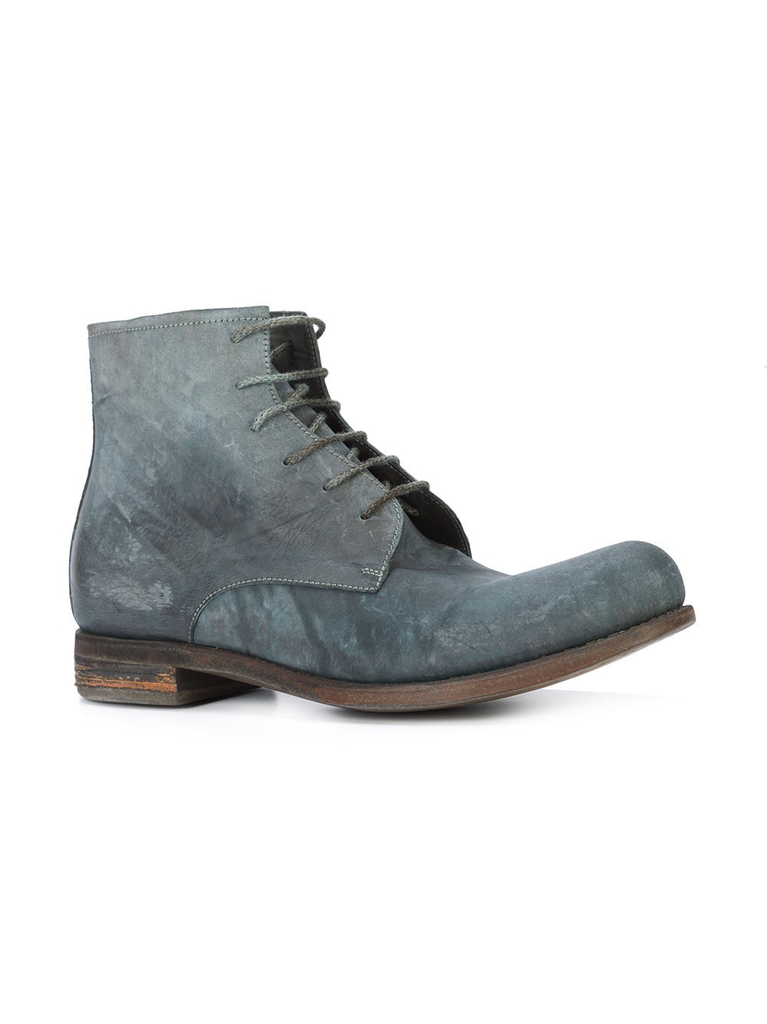 A1923 HORSE CULATTA OIL ANKLE BOOT