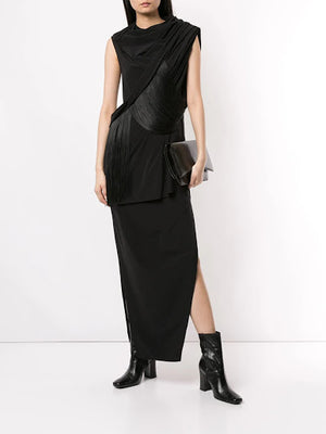 RICK OWENS WOMEN FRINGE TOP