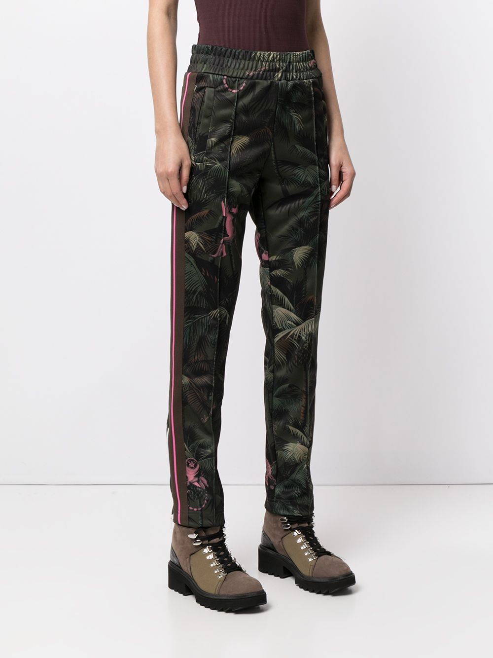 PALM ANGELS WOMEN JUNGLE TRACK PANTS