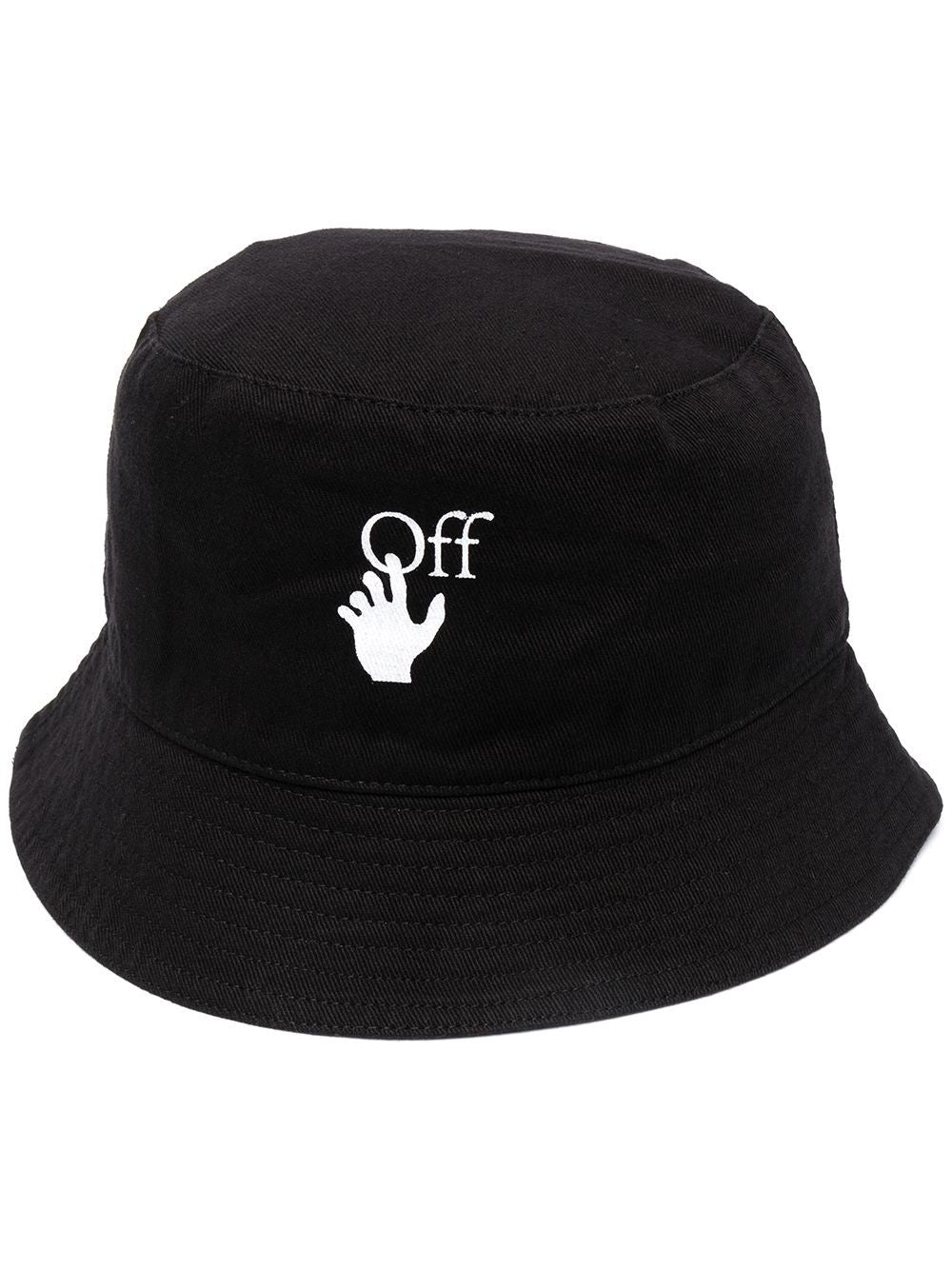 OFF-WHITE HAND OFF BUCKET HAT
